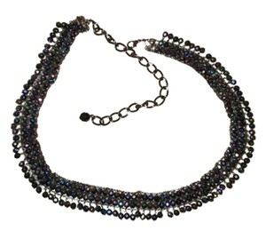 Chico's beaded fringed chain