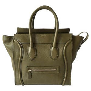 Céline Tote in Olive Green