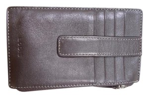 Lodis LODIS CREDIT CARD CASE WITH ZIPPER WALLET