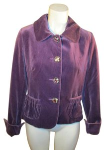 Charles Gray London Velvet purple Blazer