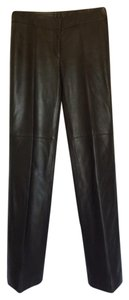 Carlisle Trouser Pants Black leather