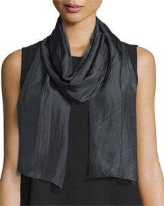 Eileen Fisher nwt Angled Perspective Silk Scarf