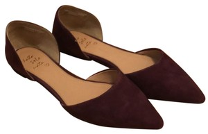 Banana Republic Maroon/purple Flats