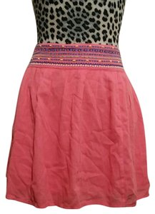 Aerie Beaded Skirt Coral