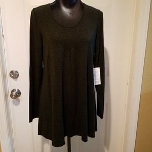 Eileen Fisher New With Tags Tunic Bloomingdales Top Charcoal Grey