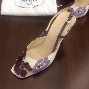 Prada Purple & white Formal