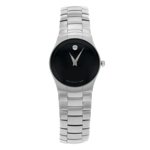 Movado Movado Strato 0605609 Steel Quartz Ladies Watch (10994)