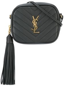 Saint Laurent Ysl Blogger Leather Monogram Cross Body Bag c752b5771cdc1