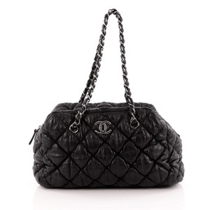 Chanel Bowler Lambskin Shoulder Bag
