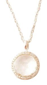 Ippolita Ippolita Lollipop Clear Quartz & Diamond Medium Necklace