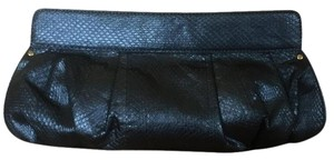Beverly Feldman Fully-lined Party Handbag Pewter Clutch