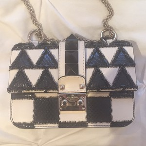 Valentino Studded Leather New Cross Body Bag