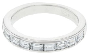 Tiffany & Co. Tiffany,Co,Diamond,Platinum,Band,Ladies,Ring