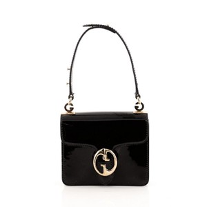 Gucci Top Handle Patent Shoulder Bag