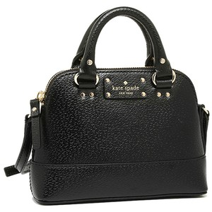 Kate Spade Satchel Mini Rochelle Black Leather Cross Body Bag