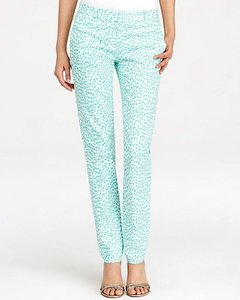 Michael Kors Straight Pants Turquoise