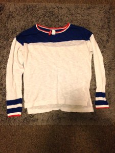 H&M Colors Stripes Light Print Sweater