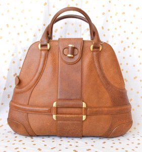 Alexander McQueen Novak Satchel in Brown