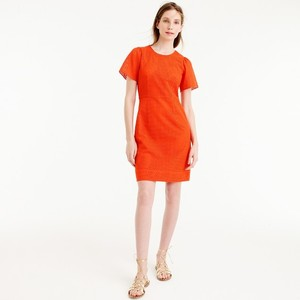 J.Crew short dress Bold red on Tradesy