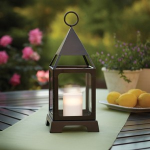Brushed Metal Lantern Centerpieces - Qty 19