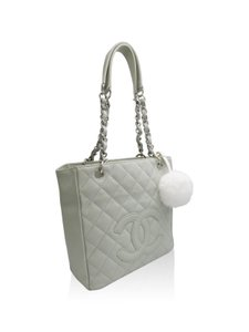 Chanel Tote in Faded Green