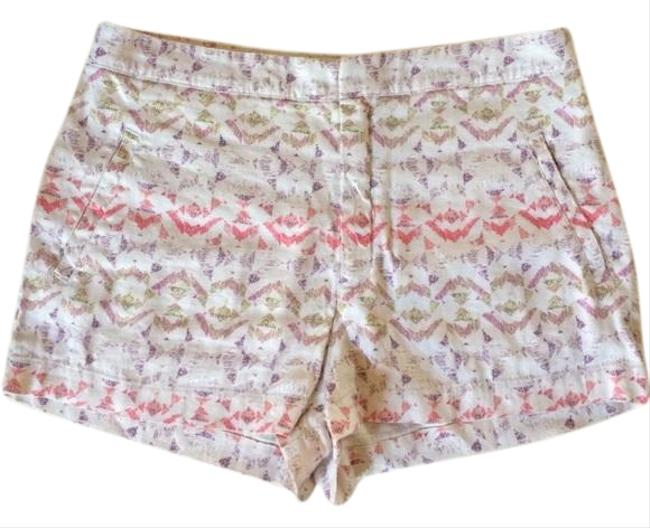 Item - Cream Tribal Shorts Size 6 (S, 28)