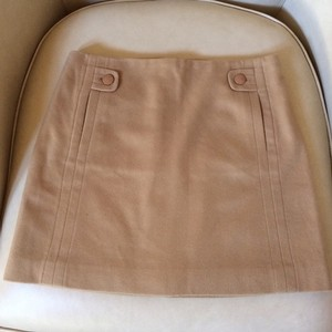 J.Crew Cashmere Wool Skirt Tan
