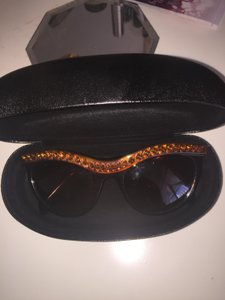 Prada Prada embellished jewel cat eye sunglasses