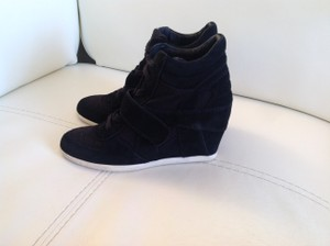 Ash Winter Boots Black Wedges
