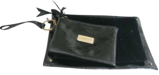 Preload https://item5.tradesy.com/images/lanvin-black-pouch-cosmetic-bag-200214-0-0.jpg?width=440&height=440