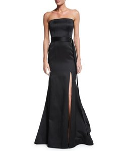 Jason Wu BLACK Jason Wu Strapless Mermaid With Belt Dress