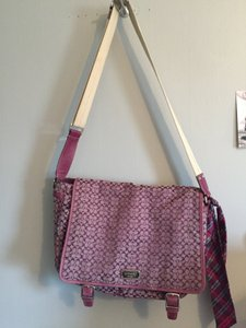 Coach Diaper Purple Messenger Bag