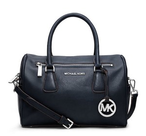 Michael Kors Next Day Shipping Satchel in Navy Blue
