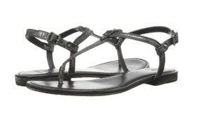 Frye Carson T Charcoal Glazed Vintage Sandals