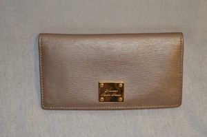 Kate Spade Gold Kate Spade Wallet with Exterior Zippered Pocket