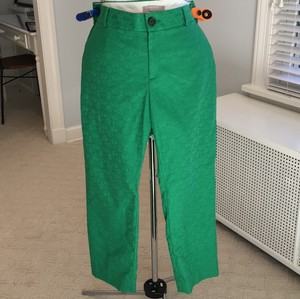 Banana Republic Capri/Cropped Pants Green.