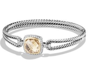 David Yurman David Yurman Albion Champagne Citrine Diamond Bangle Bracelet