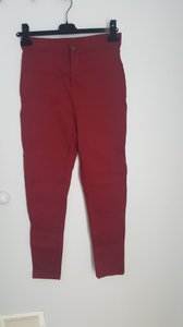 Other Skinny Pants Burgundy