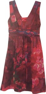 Banana Republic short dress Red Multi on Tradesy