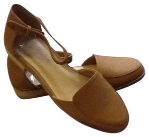 Shellys London Tan Flats