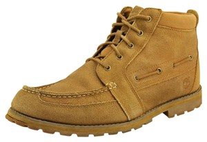 Timberland Suede Nubuck Tan Leather Boots