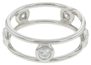 Tiffany & Co. Tiffany,Co.,Elsa,Peretti,Double,Wire,Platinum,Diamond,Band,Ring