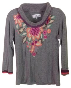 Label Rita Kumar T Shirt Gray multi