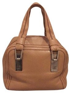 Chanel Satchel in Tan