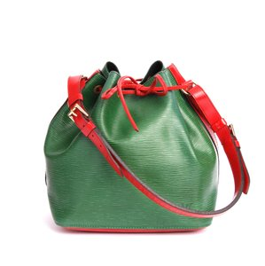 Louis Vuitton Petit Noe Noe Tote in Red and Green