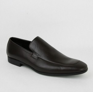 Gucci Brown Men's Dark Leather Loafer Driver 11.5/ Us 12.5 278958 2012 Shoes