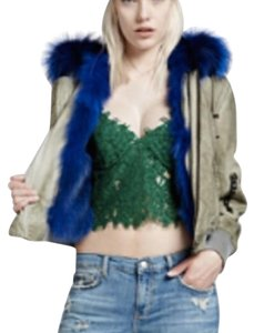 Jocelyn fur bomber jacket NEW Military Jacket