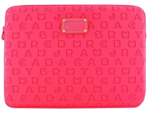 Marc by Marc Jacobs Authentic Hot Pink Laptop 3D Sleeve 13