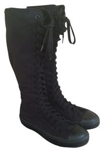 Converse Sneakerboot Xxhi Black mono Athletic