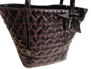 Betsey Johnson Tote in Black/Pink